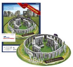 Stonehenge England 3D Puzzle Jigsaw Model UK