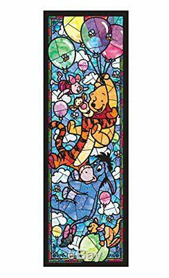 TENYO Stained Art Jigsaw Puzzle Winnie the Pooh JAPAN IMPORT