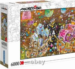 THE KISS Mordillo 6000 pieces Jigsaw Puzzle