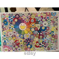 Takashi Murakami Flower Jigsaw Puzzle FLOWER JIGSAW PUZZLE kawaii