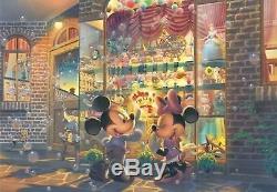Tenyo Disney Jigsaw Puzzle 4000 pcs Toy shop of twilight (102x146cm) JP Rare