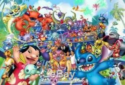 Tenyo Japan Jigsaw Puzzle D-1000-358 Disney Stitch (1000 Pieces) Japan new