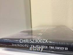 The Art And & Design of Final Fantasy XV PS4 Hardcover Art Book Print Figure SE