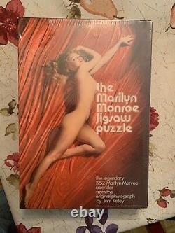 The Marilyn Monroe Jigsaw Puzzle 1952 Playboy Calendar 500 pc 1973