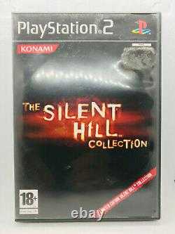 The Silent Hill Collection Sony Playstation 2 PS2 BOX AND TWO MANUALS