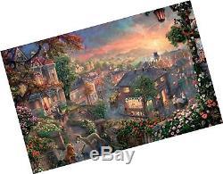 Thomas Kinkade Fantasia Lady & The Tramp Winnie The Pooh Tangled Disney Dream