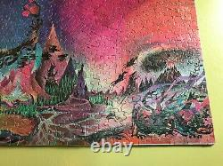 Tolkien 1972 Lord of the Rings Middle Earth Poster Puzzle Barbara Remington withmp