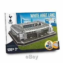 Tottenham'White Hart Lane' Stadium 3D Puzzle
