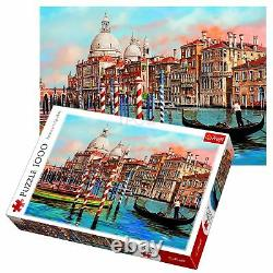 Trefl 1000 Piece Adult Large Afternoon in Venice Canal Grande Jigsaw Puzzle NEW