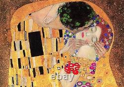 Trefl 1000 Piece Adult Large The Kiss Bridgeman Mosaic Art Jigsaw Puzzle NEW