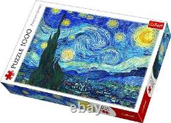 Trefl 1000 Piece Adult Large The Starry Night Bridgeman Art Jigsaw Puzzle NEW