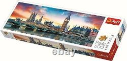 Trefl 500 Piece Panorama Adult Large Big Ben Westminster London Jigsaw Puzzle
