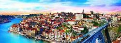 Trefl 500 Piece Panorama Adult Large Porto Portugal City Floor Jigsaw Puzzle NEW