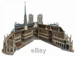 UmBum Gift Russia 3d Cardboard puzzle Notre Dame De Paris