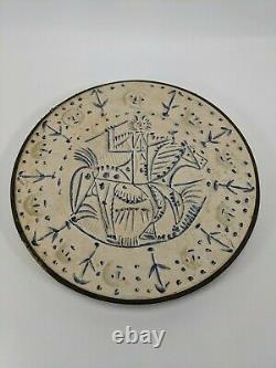 VINTAGE 1965 SPRINGBOK CIRCULAR PUZZLE THE CAVALIER Pablo Picasso