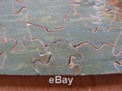 VINTAGE Tucks Zag-Zaw 320pc wooden jigsaw puzzle'On Venetian Waters