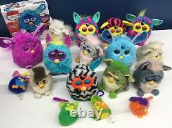 VTG & Modern LOT 17 Furby Electronic Plush Toys Puzzle Untested For Parts