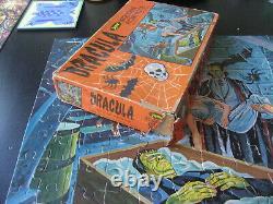 Vintage 1960s Jaymar Dracula Vampire's Nest 17 x 22 Jigsaw Puzzle