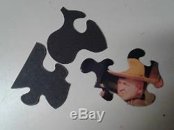Vintage Colorforms The Three Stooges Jigsaw Puzzles No. 1 & 2