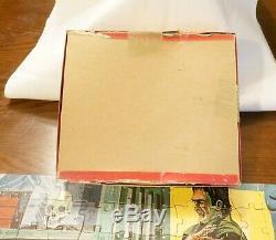 Vintage Jaymar Frankenstein Puzzle Large 15 X 20 inch. Complete! See Pics