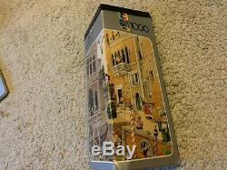 Vintage Retro Heye Loup Jigsaw Puzzle Canale Grande -1000 1974 with poster