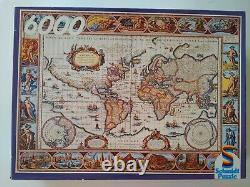 Vintage Schmidt Jigsaw Puzzle Ancient World Map- 6000 Pieces 02168 New