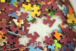 Vintage Springbok Round Puzzle Kachina No. 1 Pauli Lame MCM Abstract Art 500+