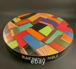 Vintage Springbok Round Puzzle Kachina No. 1 Pauli Lame MCM Abstract Art Wrapped