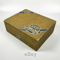 Vintage VICTORY SUPER CUT Gold Box 800pc Wooden Jigsaw Puzzle 100% COMPLETE
