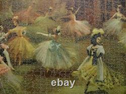 Vintage Victory ARTISTIC Gold Box 1400 piece wooden jigsaw puzzle COMPLETE