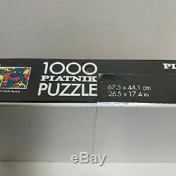 Vintage rare keith haring 1000 piece puzzle piantik puzzle year 1999