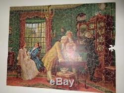 Vintage wood jigsaw puzzle U-Nit Treasures 400 14x20 FAO Schwarz