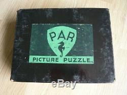 Vintage wooden Par jigsaw puzzle 750 pieces