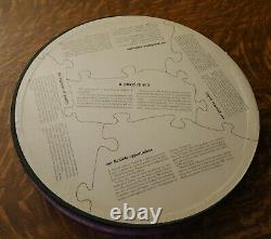 Vtg 1966 RARE round SPRINGBOK circular puzzle A PUZZLEMENT by CELANESE CHEM co