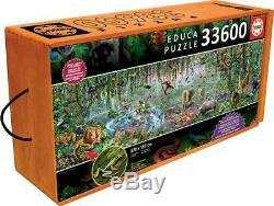 WILD LIFE ENORMOUS LARGEST JIGSAW PUZZLE 33600 pcs EDUCA NEW SEALED