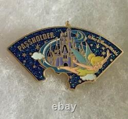 Walt Disney World Passholder Exclusive 2009 5 Pin Set Circle Puzzle Rare