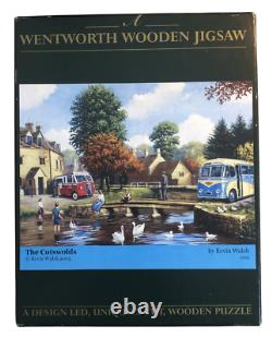 Wentworth Jigsaw Puzzle The Cotswolds 250 Piece Wooden Collector Complete