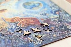 Wooden Pieces puzzle Jigsaw Millenium tree best gift, huge picture, 1100 pieces