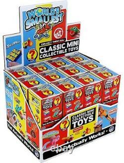 World's Smallest Classic Mini Toys Series 3 Mystery Minis Blind Box 24 Packs