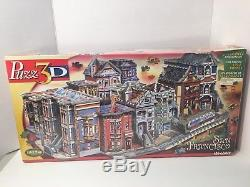 Wrebbit 3D San Francisco Puzzle 1512 Pieces Rare Retired New Box Wear