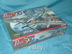 Wrebbit Puzz3D SUPERMARINE SPITFIRE 3D Puzzle Puzz NISB Brand NEW Sealed! 735 pc