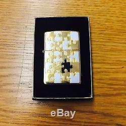 Zippo Lighter Jigsaw Puzzle 2001 Emblem Design